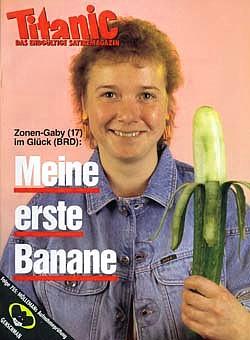 Zonengabi und ihre erste Banane