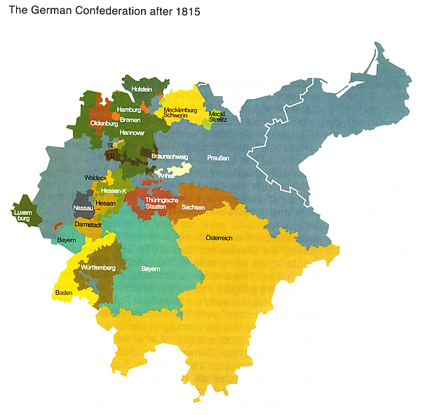 Map Of Germany Late 1800s.Hist 133c L 2 Germany 3 Empires 4 Republics