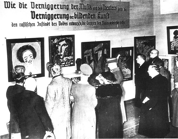 U Ginder Two 1937 Art Exhibitions In Munich