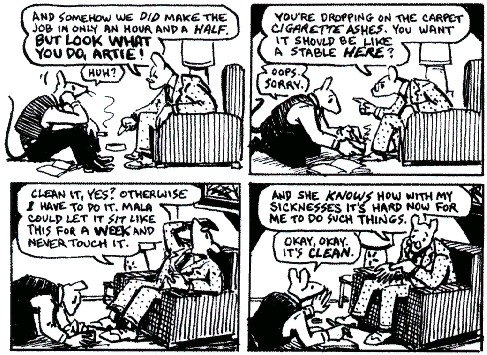 memory of the holocaust in maus Memory and representation in maus  art spiegelman's maus deals with autobiographical  it's also a way of showing how the.