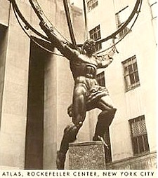 Thorak: Atlas at Rockefeller Center