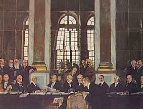 an introduction to the history of the treaty of versailles Signed on june 28 th, 1919, the treaty of versailles was a peace treaty that had a multitude of goals and plans for handling germany the german state had unparalleled and unprovoked aggression towards the balkans, sparking a long and bloody conflict that left many nations frustrated and wary of the power of the german state.