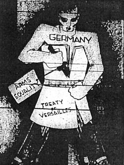 treaty of versailles and germanys reaction The treaty of versailles (french: reaction in italy to the treaty was extremely negative eventually, even under the cruel terms of the treaty of versailles, germany s economy had been restored to its pre-war status.