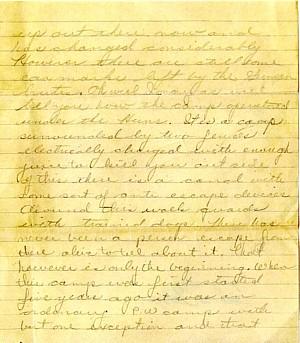 September 1945 letter, page 2