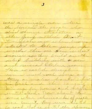 September 1945 letter, page 3