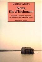 Nous, fils de Eichmann, cover